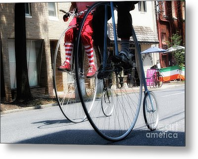 Riding High Metal Print by Steven Digman