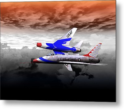 Metal Print featuring the digital art Right Break by Mike Ray