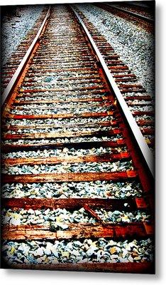 Right Side Of The Tracks Metal Print by Devon Stewart
