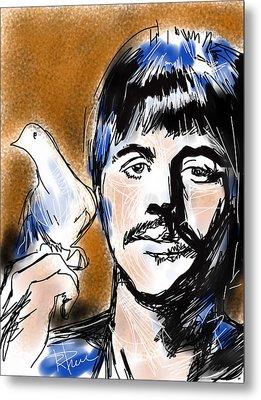 Ringo Metal Print by Russell Pierce