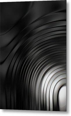 Ripple Metal Print by Jack Zulli