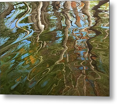 Ripple Metal Print by Jason Sawtelle