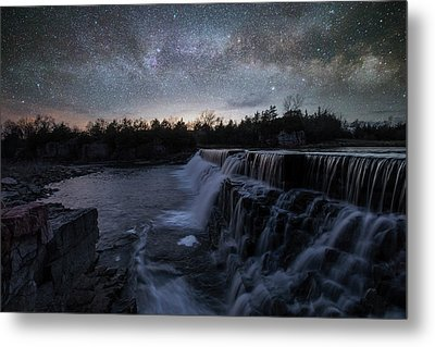 Metal Print featuring the photograph Rise And Fall by Aaron J Groen