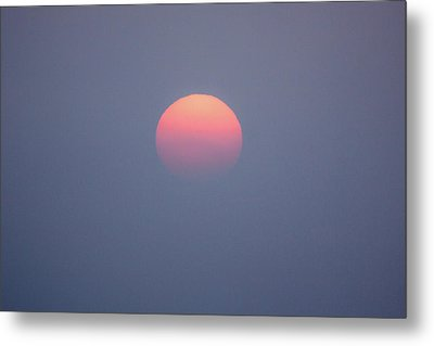 Metal Print featuring the photograph Rising Sun by Davorin Mance
