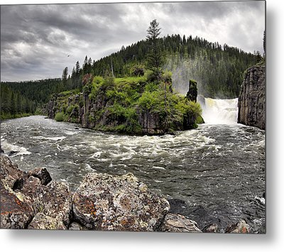 River Course Metal Print by Leland D Howard