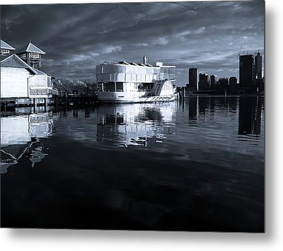 River Of Reflections Metal Print by Heather Thorning