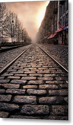 River Street Railway Metal Print