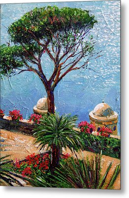 Riviera Plein Air Metal Print