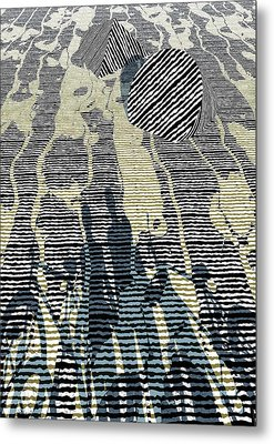 Road Metal Print by Haruo Obana