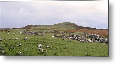 Road To Waternish Point Metal Print by Dan Andersson