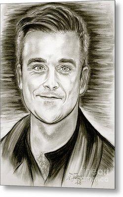 Robbie Williams Metal Print