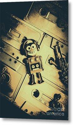 Robotic Trance Metal Print by Jorgo Photography - Wall Art Gallery