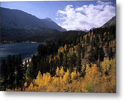 Rock Creek Lake Fall Color Metal Print by Don Kreuter