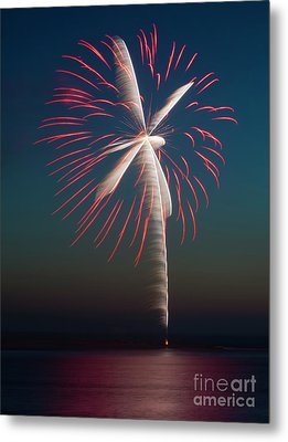 Rocket's Red Glare Metal Print
