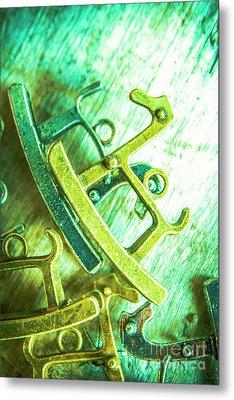 Rocking Horse Metal Toy Metal Print