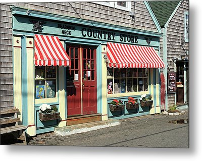 Rockport Country Store Metal Print by Lou Ford