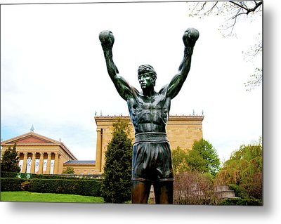 Rocky I Metal Print by Greg Fortier