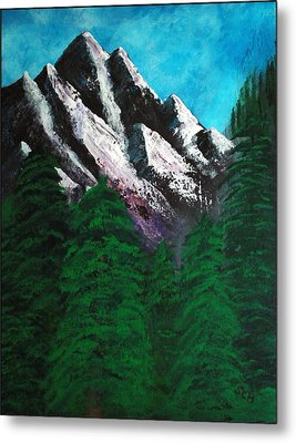 Rocky Mountain High Number One Point Five Metal Print by Scott Haley