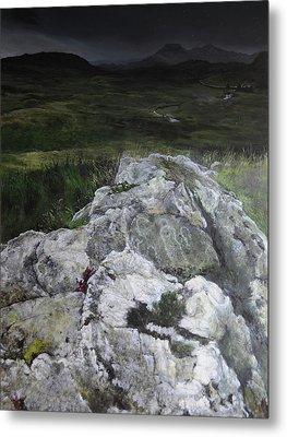 Rocky Outcrop Metal Print by Harry Robertson