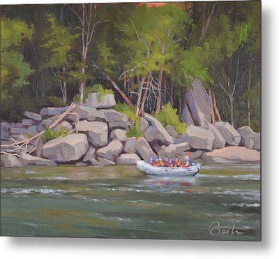 Rocky Shores Metal Print by Todd Baxter