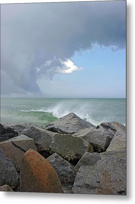 Rolling Thunder Metal Print by Thomas Lovelace