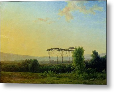 Roman Countryside Metal Print by Pierre Henri de Valenciennes