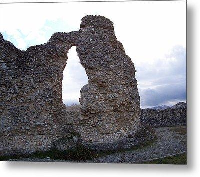 Roman Ruins Metal Print by Judy Kirouac