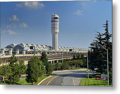 Ronald Reagan National Airport Metal Print by Brendan Reals
