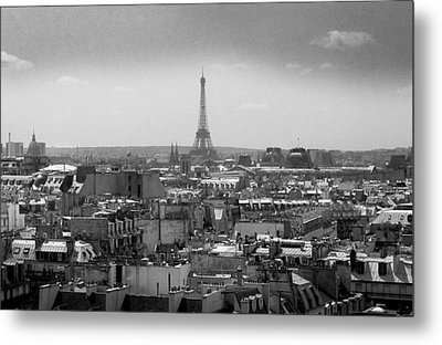 Roof Of Paris. France Metal Print by Bernard Jaubert