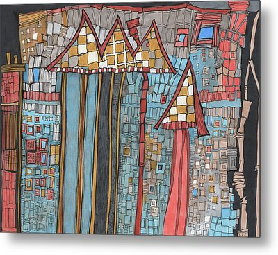 Dilapidated World Metal Print