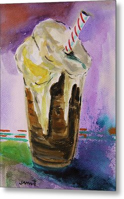 Root Beer Float Metal Print by John Williams