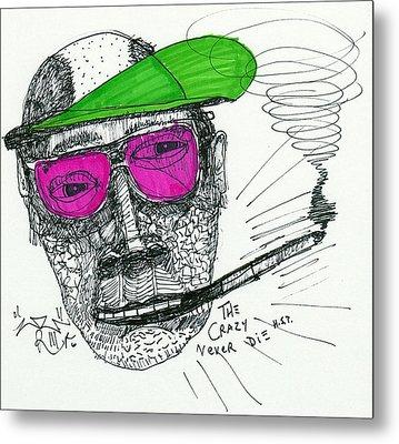 Rose Colored Glasses Metal Print by Robert Wolverton Jr