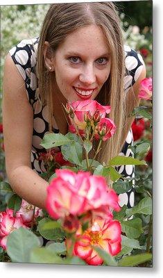 Rose Garden Metal Print by Sonja Anderson