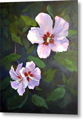 Rose Of Sharon Metal Print by Jimmie Trotter