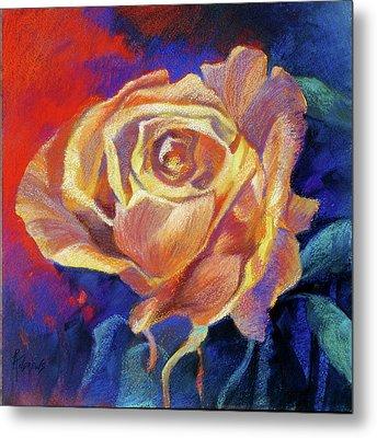 Rose Metal Print by Rae Andrews