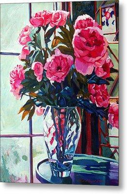Rose Symphony Metal Print by David Lloyd Glover