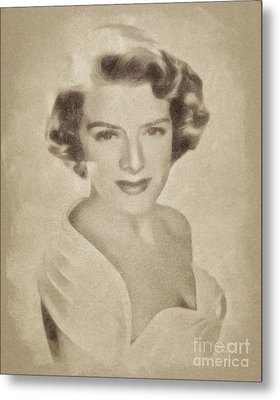 Rosemary Clooney, Singer And Actress By John Springfield Metal Print