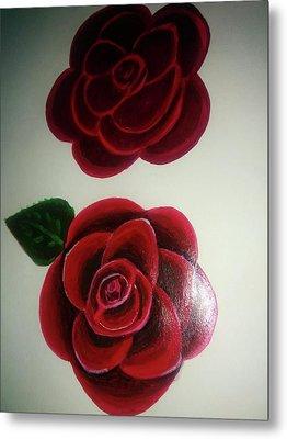 Roses Metal Print by Shweta Singh