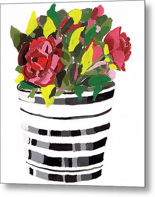 Roses Metal Print by Zara GDezfuli
