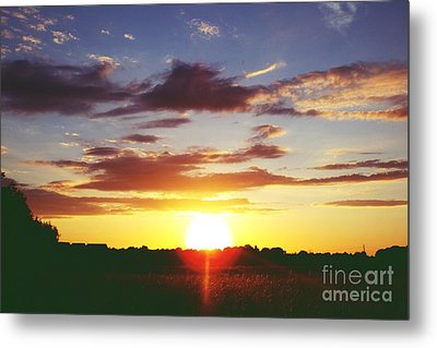 Rossington Sunset 2 Metal Print