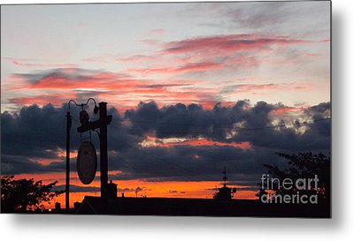 Rossington Sunset Metal Print