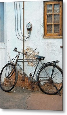 Rough Bike Metal Print