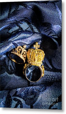Royal Blue Couple Metal Print by Jorgo Photography - Wall Art Gallery