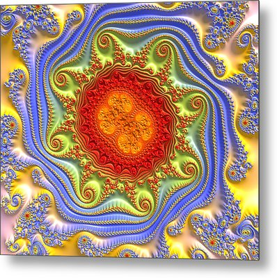 Royal Crown Jewels Metal Print