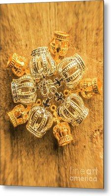 Royal Family Jewelry Metal Print