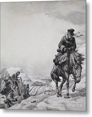 Royal Messenger James Baillie Fraser  Metal Print by Pat Nicolle