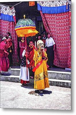 Rumtek Monastery Procession Metal Print