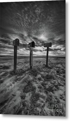 Rural Mail Metal Print by Ian McGregor
