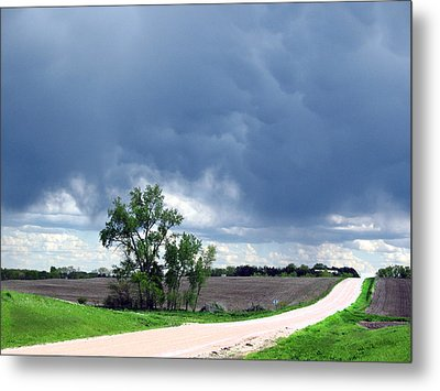 Metal Print featuring the photograph Rural Nebraska by Tyler Robbins