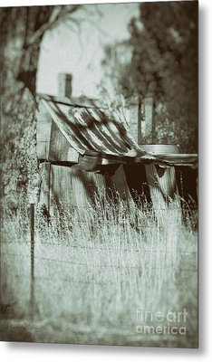 Metal Print featuring the photograph Rural Reminiscence by Linda Lees